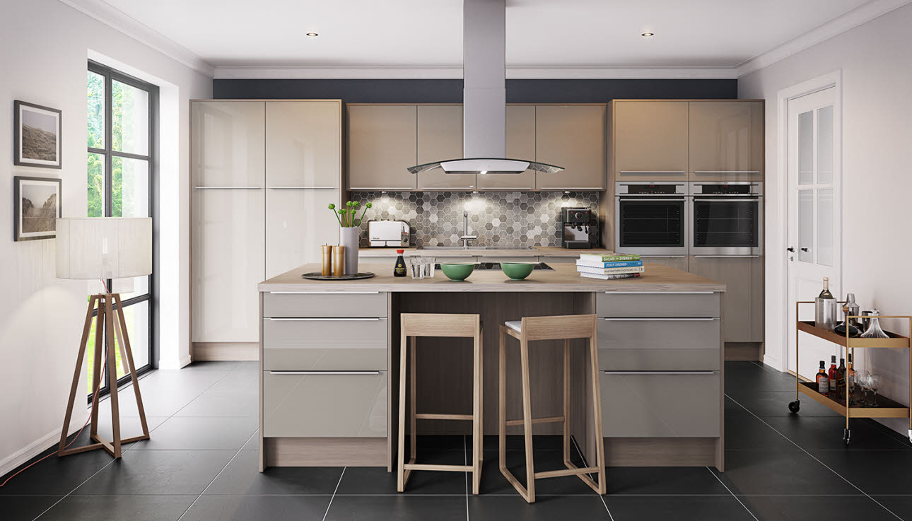Fusion Champagne Kitchen Style Kitchen Ranges Magnet Trade