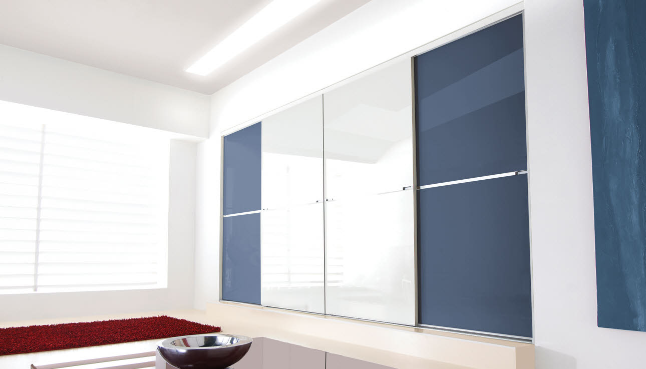 Fitted ... & Minimalist Sliding Wardrobe Doors | Doors | Magnet Trade