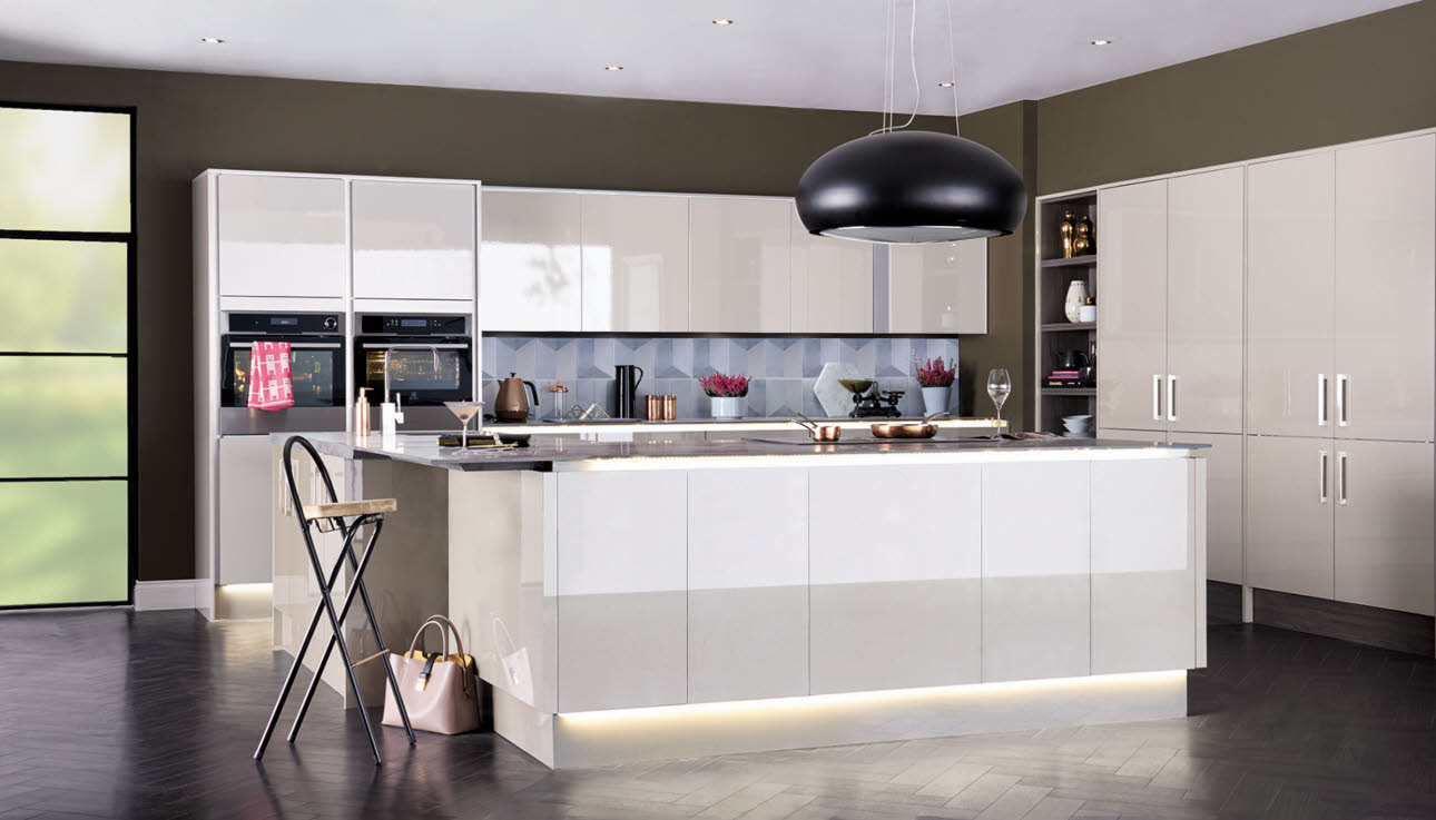 Integra Fusion Champagne kitchen