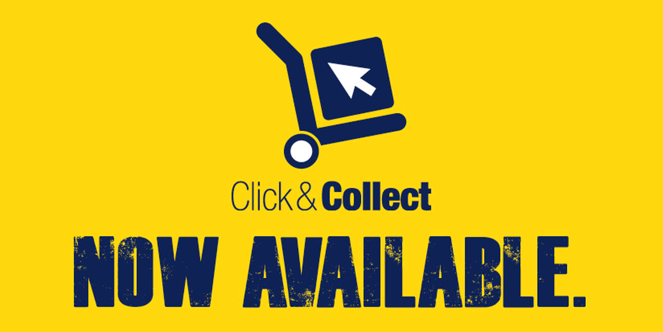 Magnet Trade Click & Collect now available logo