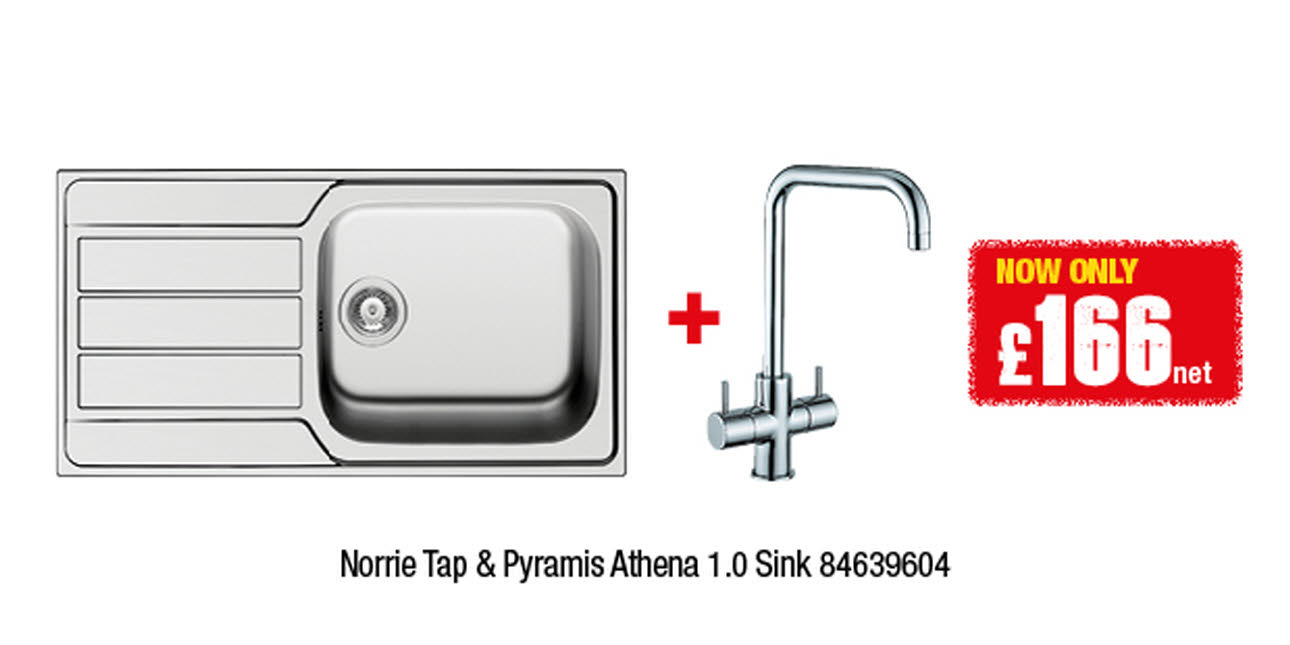 Norrie Tap & Pyramis Athena Sink