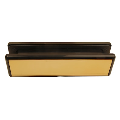 Combination Letter Plate Gold
