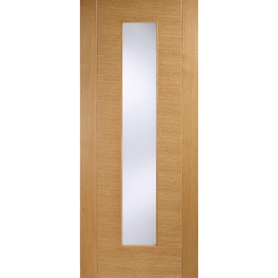 Aragon Oak Glazed Internal Door