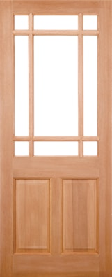 Warwick Unglazed External Door