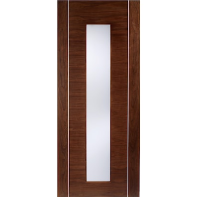 Alcaraz Walnut Glazed Internal Door