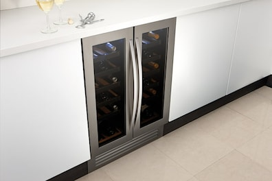Caple WI6230 Under Counter Dual Zone Wine Cooler