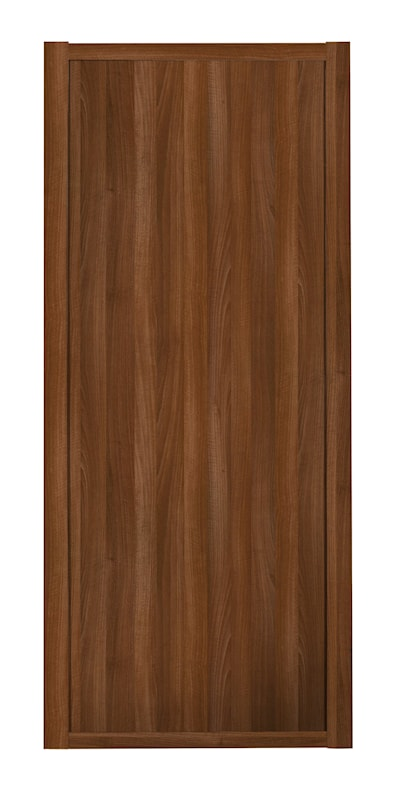 Shaker 1 Panel Walnut Sliding Door and Frame