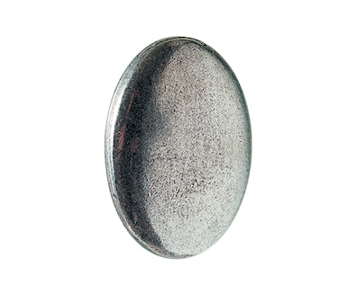 Pewter Oval Knob 1CC