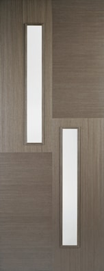 Hermes Chocolate Grey Glazed Internal Door