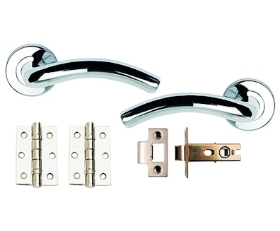 Hawk Privacy Pack Polished Chrome Plated