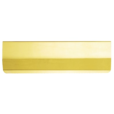 Letter Plate Inner Tidy Polished Brass 280mm