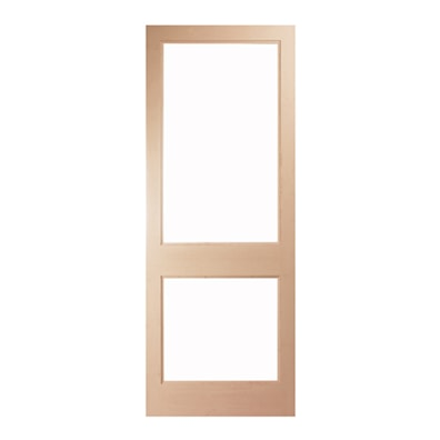 2XGG CDS Unglazed Softwood External Door