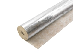 3mm Rubber Underlay With Dpm Timber Tech 2 Silver Plus