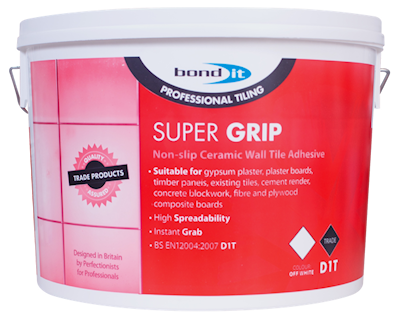 Super-Grip Tile Adhesive