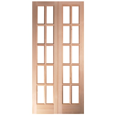 Pattern SC French Door Pair CDS 1168 x 1981mm