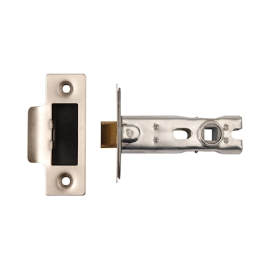 Bolt Through Latch CE Satin Stainless Steel 76mm