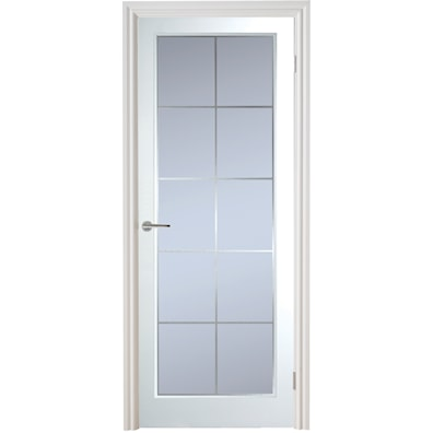 Manhattan 10 Light Glazed Grained Internal Door