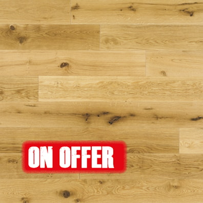 Elka Rustic UV Laquered Oak Flooring