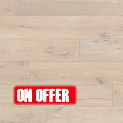 8mm Quick-Step Impressive Soft Oak Light Laminate Flooring
