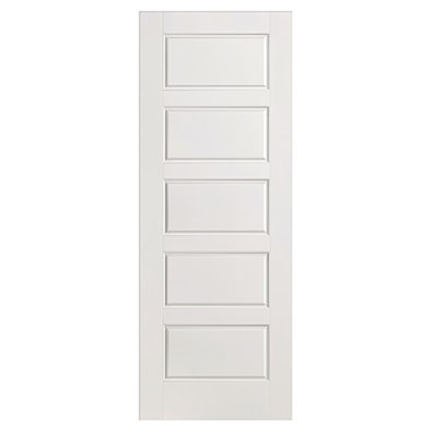 5 Panel Smooth Internal Fire Door