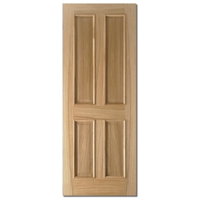 Oak Regency 4 Panel Internal Door