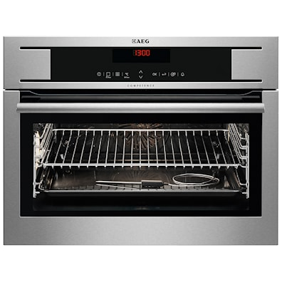 AEG KP8404001M Built-In Compact Steam Oven