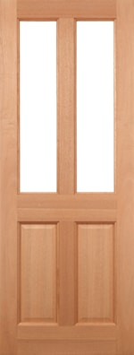 Malton Clear Unglazed External Door