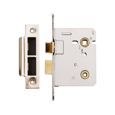 76mm Bathroom Mortice Lock - Bolt Through