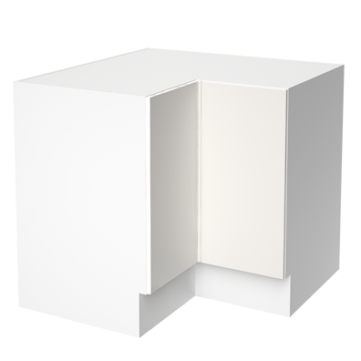 L-Shaped Corner Floor Unit 935mm