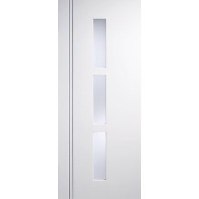 Sierra Blanco White Glazed Internal Door