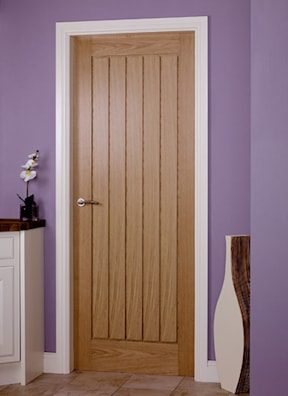 Mexicana Oak Prefinished Internal Fire Door
