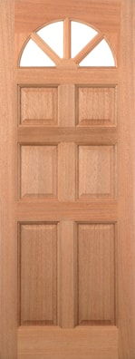 Carolina Unglazed External Door