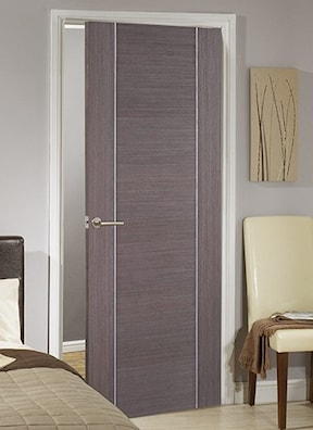 Alcaraz Chocolate Grey Oak Internal Fire Door